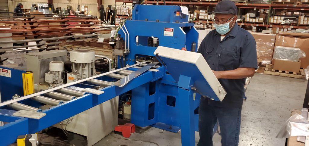Boschert copper busbar processing machine